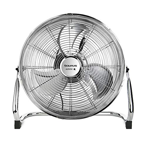 Taurus Sirocco 16 Oscillating Air circulator fan with oscillating blades, 3 speeds, 3 metallic propellers, 40 cm, 120 W, removable grid, silencer 60 Multicolor