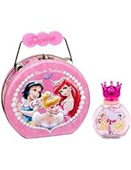 Disney Princess - cadeau en métal avec eau de toilette 50 ml