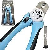 Professionelles Hunde-Nagelknipser-Set mit Gratis E-Book, Video-Anleitung und Nagelfeile