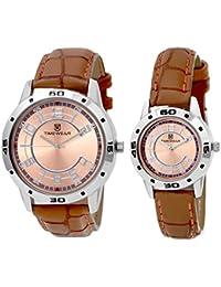 TIMEWEAR Analogue Brown Dial Men's & Women's Watch - 903Bdtcouple