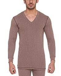 Vimal Winter King Blended Brown Mens Thermal Top