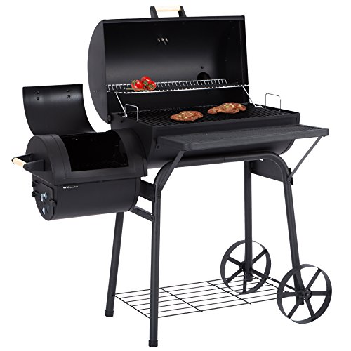Ultranatura Smoker Grill Denver mit 2 Brennkammern