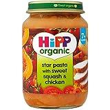 Hipp Organic Pasta étoile avec Sweet Squash & Chicken 7mois + (190g) -