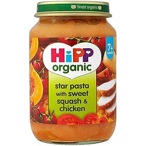 Hipp Pasta Stella Organico Con Dolce Di Zucca E Di Pollo 7Mth + (190g)