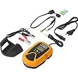 Motorrad-Batterie-Lade-Gerät Hi-Q Tools Batterieladegerät 900, 12V 900mA für Blei-Säure