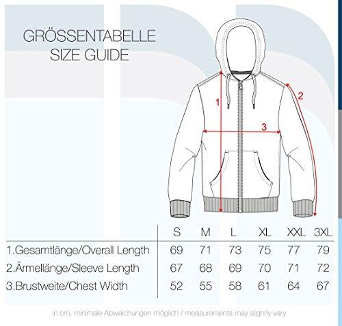 !Solid Olli Ziphood Herren Sweatjacke Kapuzenjacke Hoodie mit Kapuze Reißverschluss und Fleece-Innenseite, Größe:L, Farbe:Sand Melange (8409) - 6