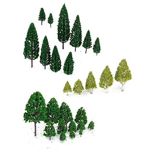 27pcs-scenery-layout-landscape-train-model-trees-3-16cm-3-type