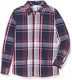 NAME IT Jungen Hemd Nitnohn LS Shirt MZ Ger, Mehrfarbig (Brick Red), 104