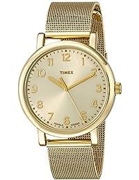 9f2e5c23f5f7 Timex Unisex t2 N598ab Originals analógico Pantalla Cuarzo Oro Reloj