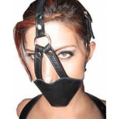 BDSM-Mundknebel aus Leder - BDSM & Fetisch > Knebel