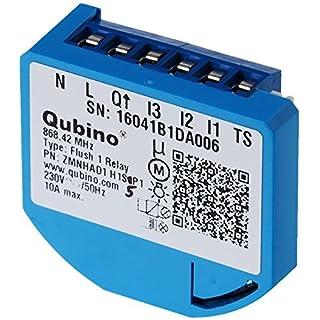 Qubino Flush 1 Schalter Relais Unterputz-Mikromodul EU Z-Wave Plus, 1 Stück, ZMNHAD1