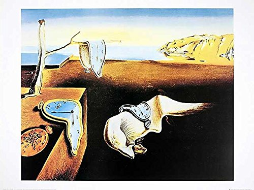 or Dali The Persistence of Memory (Uhren) Poster Kunstdruck Bild 60x80cm ()
