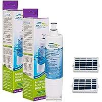 Whrirlpool Smeg Ariston Hotpoint Bauknecht S20BRS, 4396508, SBS002 y Microban - Filtro de aire antibacteriano (2 unidades cada uno)
