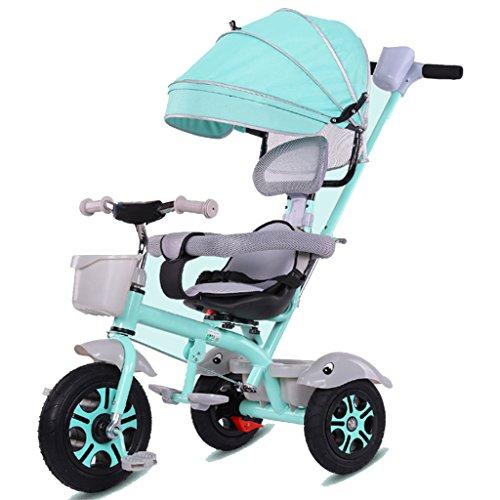 &Kinderwagen Kinder-Dreirad Smart Design Schaum Rad 3 Räder Safe 3 in 1 Kinder Dreirad (Farbe : 3#)