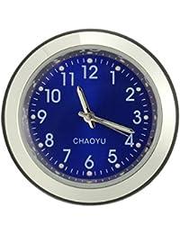 c144c6d61 Wooya Manillar Dial Monte Impermeable Reloj Reloj Universal para Moto  Bicicleta-Azul