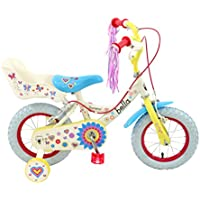 Townsend Girls' Bella Crush Bike-Pink and White, 3-5 Years