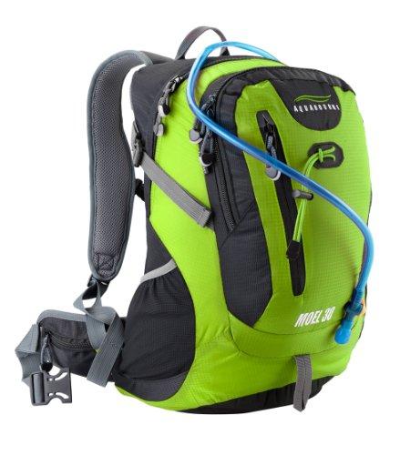 Aquabourne-Moel-30L-Backpack-mit-2L-Trinksystem-Grn