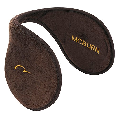 McBurn Earband Basic Ohrenwärmer für Damen Herren Mouse Ohrenschützer Winter (One Size - braun)