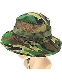 Gorra Para Mujer Sombrero De Hombre Para Bush Camuflaje Modernas Casual Del  Ejército Sombrero Del Cubo Sombrero Para El Sol Sombrero De… 4f0cf75a185