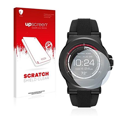 upscreen Scratch Shield Clear Bildschirmschutz Schutzfolie für Michael Kors Access Dylan (hochtransparent, hoher Kratzschutz)