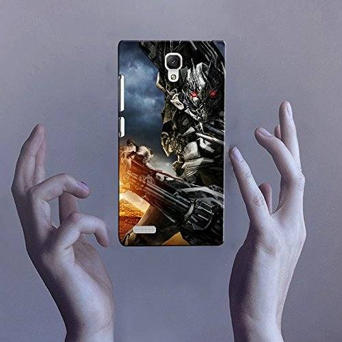 Krazzy Kollections Transformers Megatron in Action Xiaomi Redmi Note Back Cover | Matt Base Mobile Cover for Xiaomi Redmi Note | Cases & Covers |