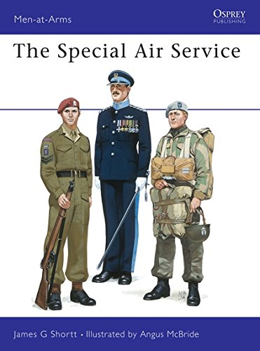 The Special Air Service (Men-at-Arms, Band 116) (Special Air Service)