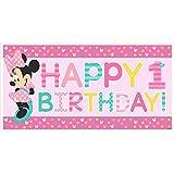 Minnie Mouse Fun zu einem Geburtstag Banner werden