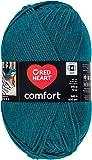 Red Heart Comfort Yarn - Mallard Shimmer (Pack of 2 )