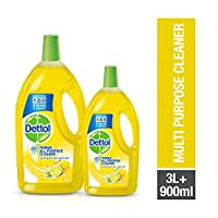 Dettol Lemon Healthy Home All- Purpose Cleaner 3LT + 900ml