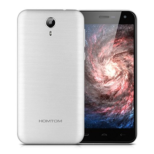 HOMTOM HT3 PRO - 4G SMARTPHONE MOVIL LIBRE ANDROID 5 1 (5 0 HD PANTALLA  DUAL SIM  QUAD CORE 1 3GHZ  16GB ROM  2GB RAM  SMART WAKE  MULTI-IDIOMA) (PLATEADO)
