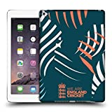 Head Case Designs Offizielle England and Wales Cricket Board Kralle Action 2018/19 Kamm Muster Ruckseite Hülle für iPad Air 2 (2014)