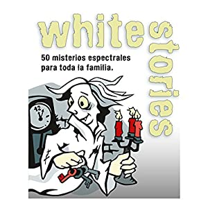 Black Stories- Juego de Mesa White Stories, Multicolor (Gen-x Games GEN040)