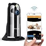 HD 1080P FREDI Cámara Panorámica/WiFi Cámara IP/Cámara Vigilancia/Cámara Seguridad y...