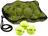Second Chance 100 2 Piece Range Golf Balls - Yellow