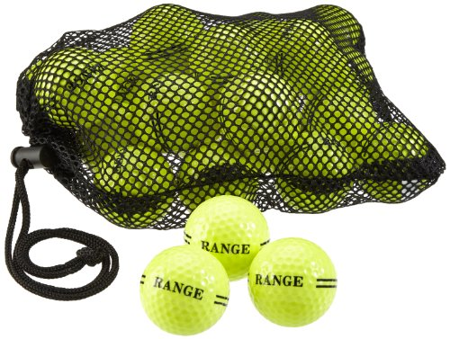 Second Chance Golfball 48 Range - 2 Piece, Gelb, 1