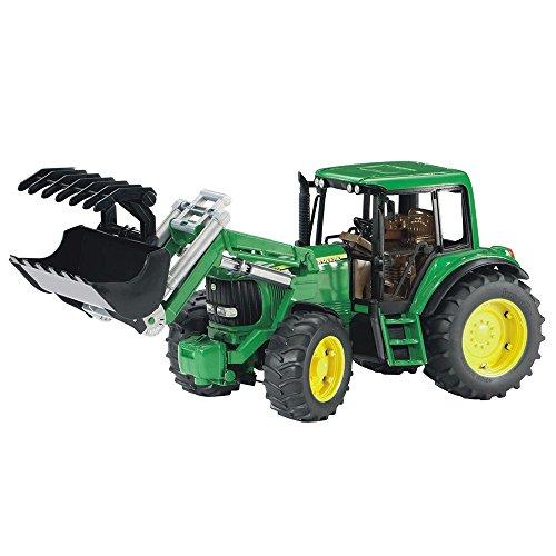 bruder-02052-tracteur-john-deere-6920-vert-avec-fourche