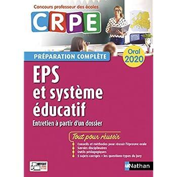 EPS - Système éducatif - Oral 2020 - Préparation complète - CRPE