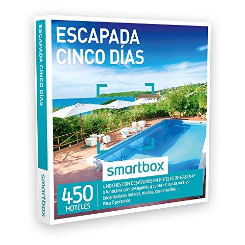 SMARTBOX – Caja Regalo – ESCAPADA CINCO DÍAS – 450 encantadores hoteles, masías, casas rurales, cortijos, haciendas…