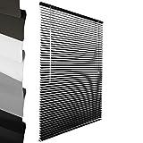 Sol Royal ALU Jalousie: Aluminium Jalousie Schwarz 100 x 130