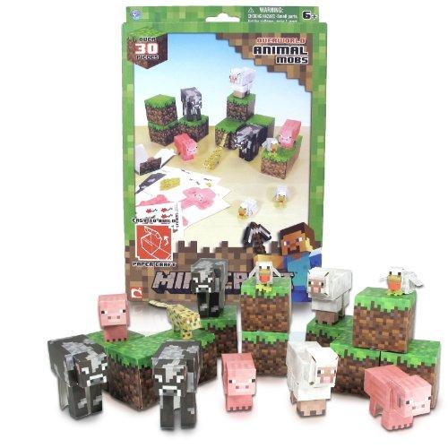 minecraft-paper-craft-animal-mobs-set