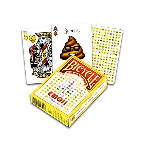 Fournier- Bicycle Emoji Baraja de Cartas para Coleccionistas, (US Playing Card Company 1037675)