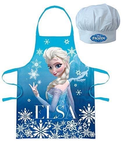 Rentier Kostüm Das Sven (Walt Disney Frozen Die Eiskönigin (101344) Kinder Chefkoch-Set Kochschürze und Kochmütze,)