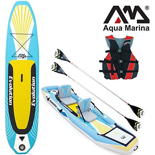 "Aqua Marina EVOLUTION 10'14"" SUP&Kajak 2in1 Combo / Kaj… 