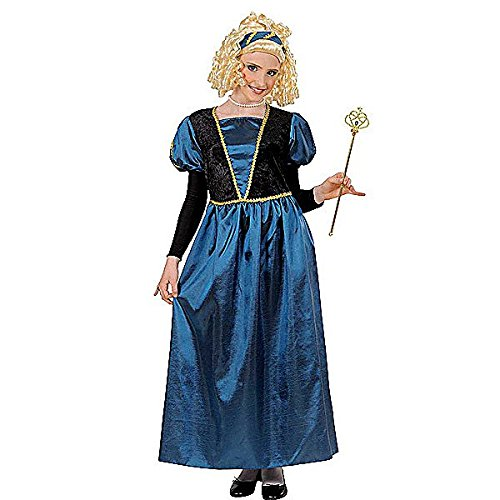 Princess Dress - Childrens Fancy Dress Costume - Medium - 140cm