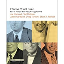 Effective Visual Basic: How to Improve Your VB/COM+ Applications (DevelopMentor) by Joe Hummel (2001-06-04)