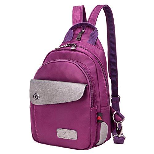 Damen schultertaschen,canvas-tasche-Lila Lila