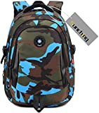 Mens Camouflage Backpack Rucksack of Sunching Lightweight Waterproof Bags