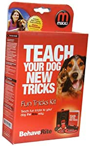 Mikki Training Fun Tricks Clicker Training Kit