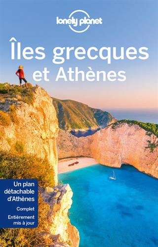 Iles grecques et Athènes (1Plan détachable)