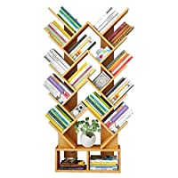 Wangzhefengfan Simple Floor-standing Bookshelf Study Assembly Bookcase Bedroom Book Shelf Living Room Storage Display Bookcase Children